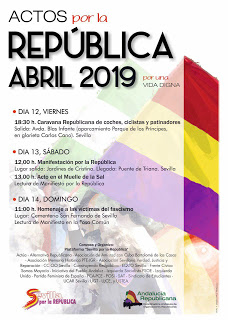 Abril republicano Sevilla (actos)